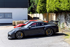 Graphite Grey. (Reece Garside | Photography) Tags: street summer sun london history car canon 911 german porsche rare supercar goodwood pts 991 gt3 spotter gt3rs hypercar 911gt3 worldcars canon6d graphitegrey 991gt3