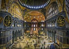 Istanbul - Sainte Sophie (akcfoto) Tags: turkey istanbul turquie mosque saintesophie