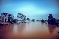 Floodagora (Pixelicus) Tags: longexposure paris water seine nikon eau flood 94 inondation crue marne valdemarne ivry chinagora charenton alfortville nd1000 d700 crueparis