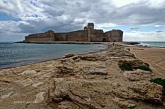 The Castle (Arcieri Saverio) Tags: landscape nikon italia mare sigma medieval kr crotone lecastella sigma1020 d5100