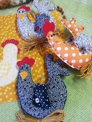 Mbile de Galinhas (Criao Exclusiva da Ane) Tags: cozinha galinhas mbile