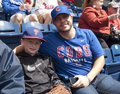 Phillies and Cubs fans together (tcd123usa) Tags: leicadlux4 newbeginningsnextstep baseballstadium