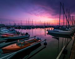 Copenhagen (Andris Nikolajevs) Tags: morning travel sea port sunrise copenhagen relax boats sailing outdoor sailingboats