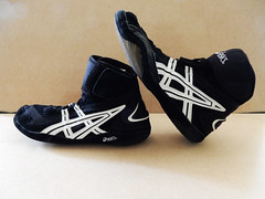 Asics Jackal JL203 Wrestling MMA Boxing Lifting Athletic Shoes Sneakers 11.5 (Donna's Collectables) Tags: athletic shoes jackal wrestling sneakers asics boxing 115 lifting mma jl203