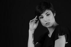 Giorgia (luca Bozzolan) Tags: portrait blackandwhite girl face fashion donna amazing glamour eyes foto ritratto biancoenero beautifull photobylucabozzolan fotodilucabozzolan