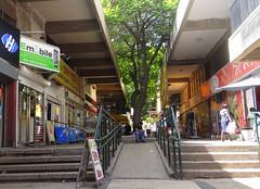 , -   / Neighborhood Kiryat Eliezer, Haifa (Wallik) Tags: street shadow mall shopping walk