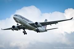 [CDG] Qatar Cargo Airbus A330F (Timothée Savouré) Tags: qatar cargo airbus a330 a330f a7afz paris cdg