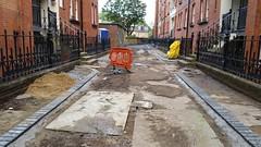 20160616_165656 (Carol B London) Tags: tarmac courtyard charcoal e1 wedge sgc ids stepney londone1 stepneygreen newlayout newsurface charcoalbricks steneygreencourt wedgeengineering