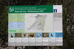 la reserve naturelle de Derborence ,Valais ,Suisse (luka116) Tags: juin suisse information valais panneaux 2016 indication derborence