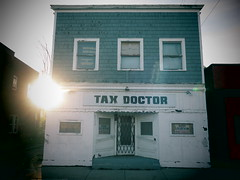 """Open Wide and Say """"Ahhhh"""". (david grim) Tags: ohio cleveland streetphotography oh eastside mtpleasant cuyahogacounty taxdoctor"""