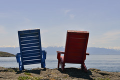 SEATS WITH A VIEW  -  (Selected by GETTY IMAGES) (DESPITE STRAIGHT LINES) Tags: sea cloud canada nature water clouds relax bay coast chair nikon flickr day bc chairs stones britishcolumbia debris shoreline pebbles victoria september vancouverisland pebble driftwood coastal shore balance relaxation chill mothernature deckchairs victoriabc d800 unwind straitofjuandefuca victoriabritishcolumbia paulwilliams seatwithaview nikon2470mm dallasroadvictoria seatseats nikkor2470mm nikond800 kittyislet pebblesonabeach despitestraightlines kittyisletvictoria kittyisletbc