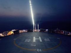 Navigazione (Carlo Mirante) Tags: travel cruise panorama night canon photo amazing ship vessel deck nave fotografia viaggi notte crociera norwegianstar trave ncl s200 fotografando navigazione crociere