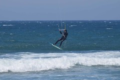 Kite Surfing (F R Childers Photography) Tags: kitesurfing californiacoast bigbasinredwoodsstatepark waddellbeach