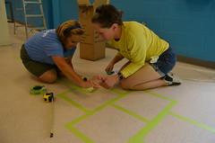 Hopscotch (SalvationArmyIndiana) Tags: salvationarmy indianapolis volunteers renovation shelter serviceproject firstfinancialbank salvationarmyindiana ruthlillywomenandchildrenscenter