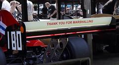 Well Said That Man! (6079 Jones,P) Tags: car climb you hill racing thank motor marshalls walsh hillclimb motorsport shelsley marshalling