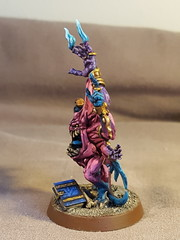 Iridescent Horror (WarbossKurgan) Tags: tower silver chaos warhammer gamesworkshop daemons tzeentch ageofsigmar