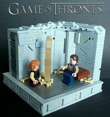 Game of Thrones-Tyrion Lannister-Part4 (KevFett2011) Tags: castle lego series vignette hbo 12x12 tyrion gameofthrones lannister bronn kevfett2011