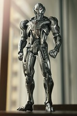 Revoltech Ultron (Ei8t) Tags: india comics movie toy toys lumix naturallight marvel mumbai avengers kaiyodo ultron gh4 toyphotography revoltech