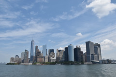 Picture Taken From The Staten Island Ferry Showing The Lower Manhattan Skyline Including One And Seven World Trade Center. Photo Taken Monday June 27, 2016 (ses7) Tags: ferry skyline island manhattan staten viewlower
