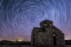 Follow your own star! (iosif.michael) Tags: light sky colour night stars landscape photography long exposure sony cy a7 startrails