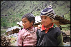 Wordless Wednesday (curious.eagle) Tags: people outdoor folks kids himalayan looking innocence innocent portrait day remote uttarakhand gangad wild nature two winter