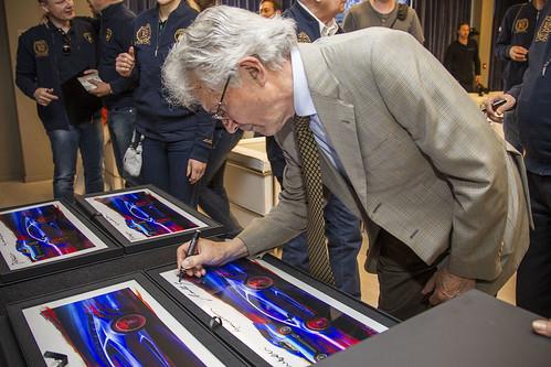 Создатели Lamborghini Miura