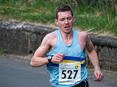 Troon 10k 2013 - approaching the finish - David Henderson 5th (velton) Tags: detail k sport fun scotland south run 10k strong tortoises km topaz troon ayrshire 527 2013 scottish10
