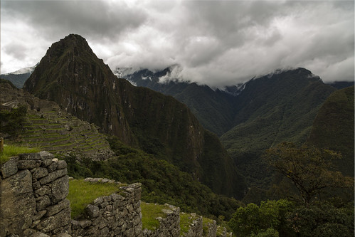 First Glimpse of Huayna Picchu