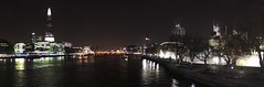 View from the Tower Bridge (jitsejan) Tags: panorama london skyline towerbridge dark