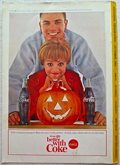 1964 Halloween 1960s Vintage Coca Cola Advertisement From National Geographic Back Page 9 (Christian Montone) Tags: vintage ads advertising coke americana soda cocacola advertisements sodapop vintageads vintageadvert