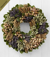 FTD Captivating Comforts Dried & Preserved Organic Wreath (dobdeals.com) Tags: flowers wreaths eventsupplies