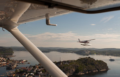 IMG_8876 (jarud) Tags: norway airplane norge fly aircraft seaplane cessna sjøfly notodden 2013 scandinavianaircraft flyteknisk