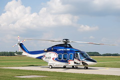 Augusta Westland AW139 at EDDV/HAJ ( 30.07.2008 )OH-HCR ( c/n: 31142 ) It's the first landing of a AW139 at HAJ Airport. (EDDV_JJ) Tags: airport first hannover landing helicopter augusta westland haj hubschrauber hubi copterline langenhagen aw139 eddv ohhcr