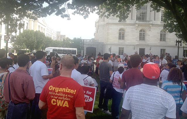 Immigration Rally Washington D.C.