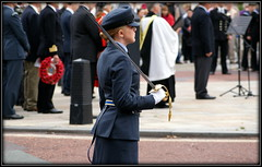 Next generation (* RICHARD M (Over 6 million views)) Tags: street memorial candid military poppies sword uniforms patriot cenotaph remembrance patriotism poppywreath southport raf armedforces merseyside sefton royalairforce armedforcesday universityairsquadron