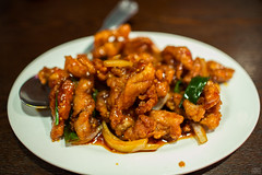 Orange Chicken (Jeremy Thomas Photography) Tags: 2 two portrait food orange 3 chicken digital 35mm canon lens lunch eos prime high exposure raw dof yum angle bokeh 5 f14 quality wide chinese tasty sharp full delicious eat foodporn meal frame definition l fixed hd feed usm dslr 35 delectable ef def foodie lightroom fov orangechicken 5dmarkiii fijizzle