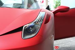 Vossen Project Ferrari 458 Italia - Rosso Fuoco Opaco (VossenWheels) Tags: italia deep ferrari exotic precision series concave 458 vossen vps teamvossen concavesociety