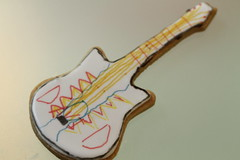 Decorate your own Guitar Biscuit of Rock (The Bespoke Biscuit Co) Tags: fsor rockguitar bespokebiscuit