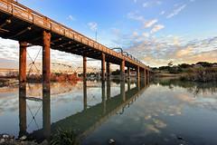 Bridge 250713-1 (Bridge Framer) Tags: bridge sunset river landscape southaustralia murray murrayriver canon60d scenicsnotjustlandscapes