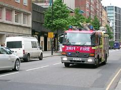 FIRE!!! (ChristopherW45) Tags: london fire engine knightsbridge