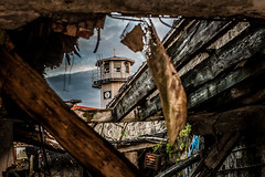 Twilight Hours at Eastern State Penitentiary (~michele_b) Tags: tower abandoned twilight decay gothic guard eerie haunted prison easternstatepenitentiary prisoncells centercityphiladelphia