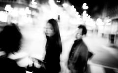 20130819 (zzkt) Tags: blackandwhite blur monochrome amsterdam night nl greyscale f40 iso160 leicasummiluxm35mmf14asph leicam9 ⅓sec ⅓secatf40