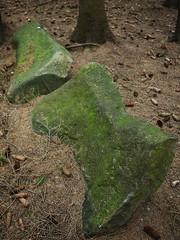 Geheimnisvolle Steinreihe bei Quellenreuth 07 (Rainer.Steinke) Tags: archaeology deutschland megalith dolmen saale menhir schwarzenbach archäologie steinkreis steinreihe quellenreuth