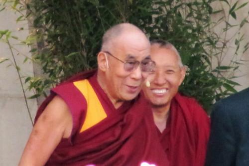From flickr.com: Seine Heiligkeit der Dalai Lama in Steinhude 19.9.2013 -11- {MID-190765}