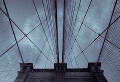 Brooklyn Bridge Stays (10mmm) Tags: nyc longexposure bridge sunset newyork