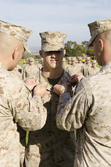 Promotions (Photographer of Marines) Tags: promotion usmc americanflag formation marines capt marinecorps pfc pvt lcpl mgysgt