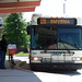 DART's Gillig hybrid bus #167 - Rt. 120 with bike at Dover Transit Center, Dover 6-15-12