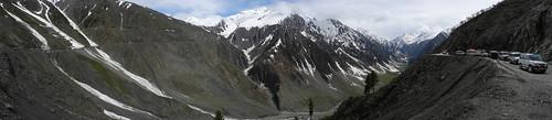 Zoji Pass Panorama