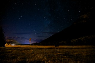 Banff (un)International Airport - Night