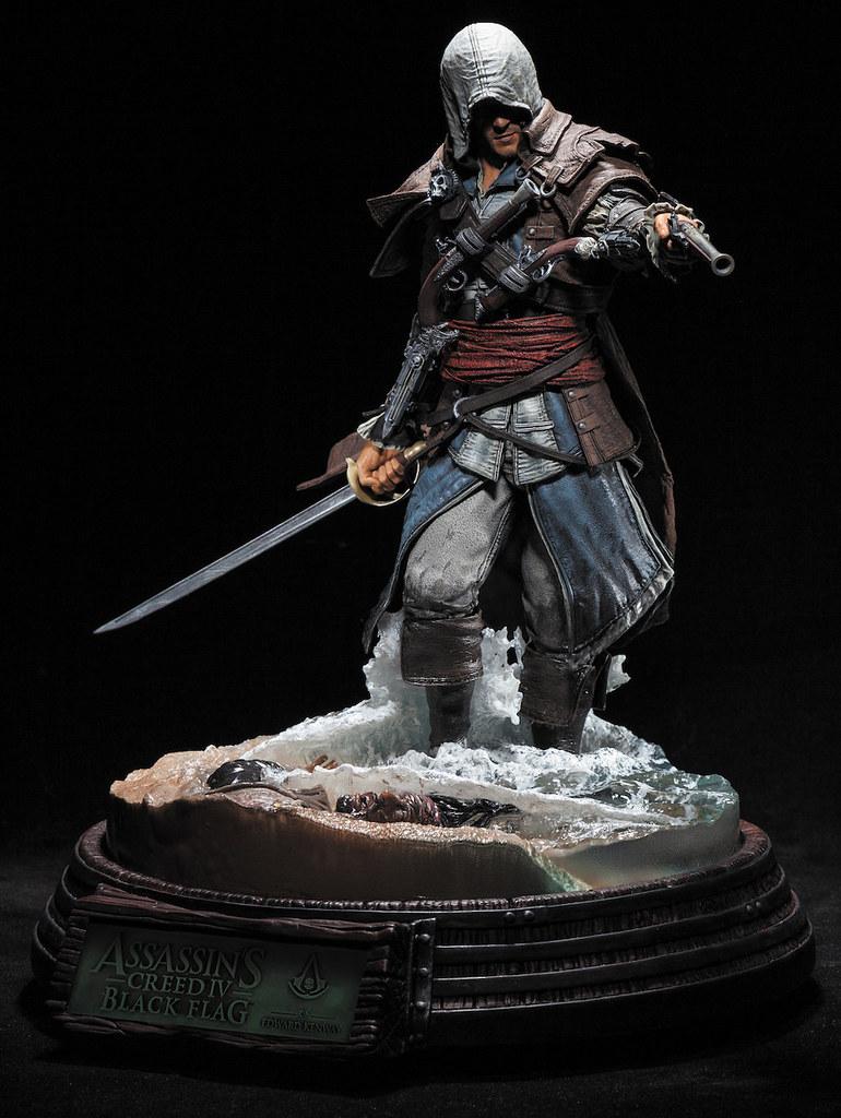 McFarlane Toys 推出超驚人的《刺客教條4:黑旗》愛德華.肯威 雕像